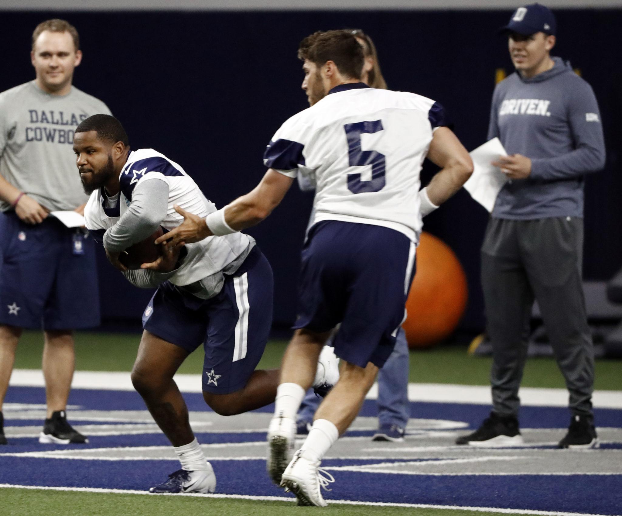 d25bf57c Cowboys rookies seeking roles behind Ezekiel Elliott